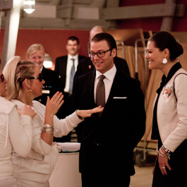 Crown Princess meets Ruby Rose Production. Photo Ludvig Duregård.