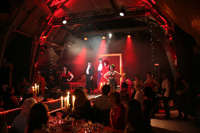 Moulin Noir 2006 in collaboration with Circus Arts.
