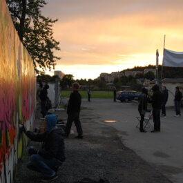 Graffiti prova på events